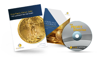 Five Facts About Gold PDF Cover, Acquire Gold & Silver PDF Cover and The Profit Doctrine DVD